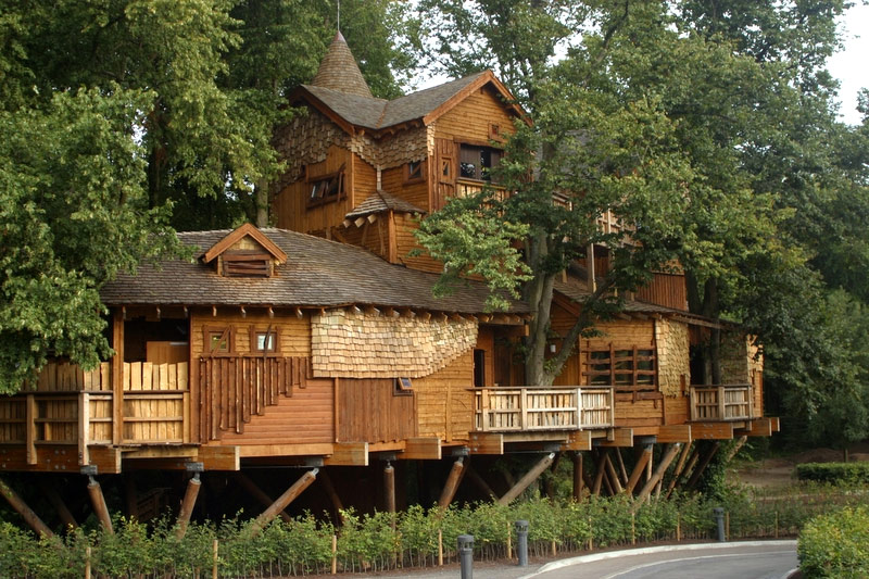 What is glamping discover glamping for Awesome tree house plans