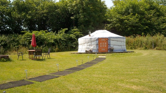 Glamping interview with Devon Yurts