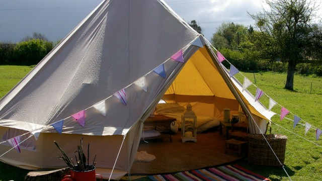 Glamping interview with The Canvas Cottage Company