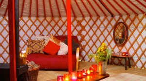 Glamping interview with Cae Wennol Yurts