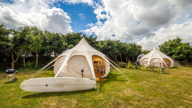 Glamping interview with Lowarth Glamping