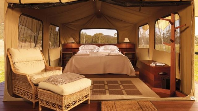 Camping in Luxury