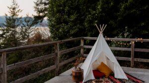Luxury Camping in Devon